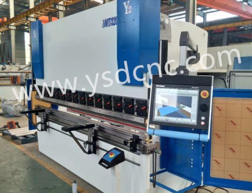 MB8 CNC Servo Press Brake – DA66T (3+1 Axis)