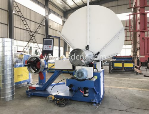 HVAC SPIRE DUCT MACHINE 80/1500